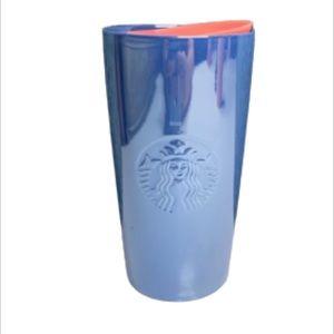 NEW Starbucks Cotton Candy Ceramic Tumbler 12oz